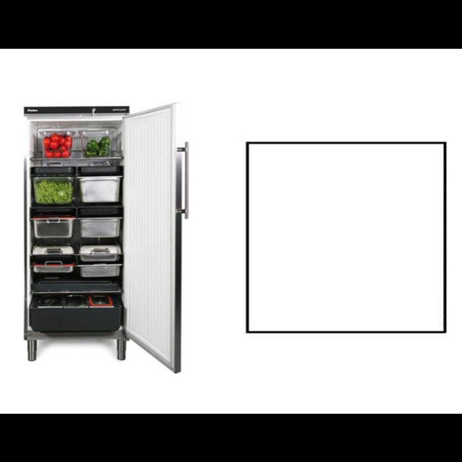Lagerkühlschrank   Weiß   583 Liter   Geeignet für 1 / 1GN   750 x 750 x (H) 1864/1925 mm