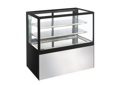 Polar Refrigerated Glass Showcase 385Ltr | 120 (h) x 120 (b) x 68 (d) cm