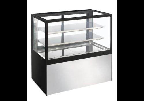 Polar Vitrine aus gekühltem Glas 385Ltr | 120 (h) x 120 (b) x 68 (d) cm