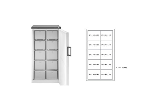 Rieber Common fridge Multiple drawers 2 versions