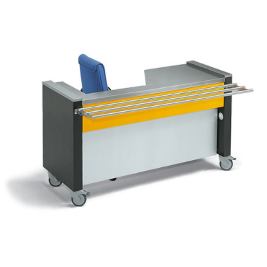Rollito POS   With Tray Rails   Checkout Left or Right