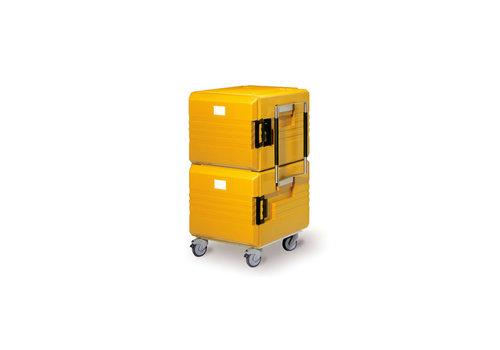 Rieber Thermoport Maxi K 2x6000K | Unbeheizt 2 x 104 Liter | 76,6 x 77,9 x (h) 128 cm