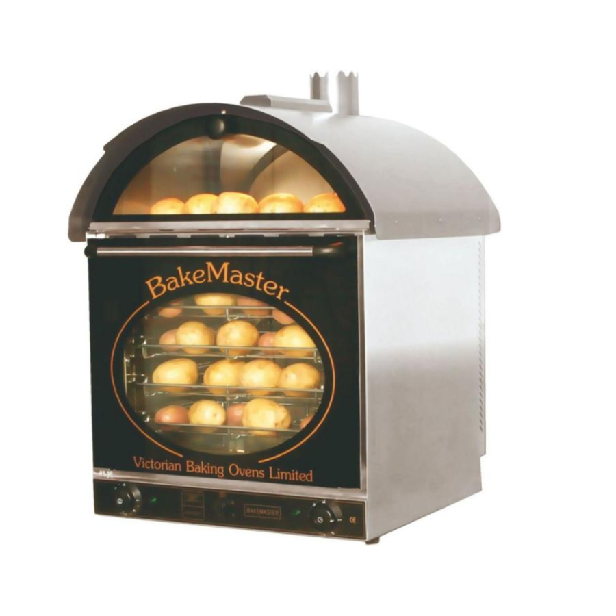 Aardappel oven | 660x600x(h)880mm | 60 Warmhouden + 60 Bakken