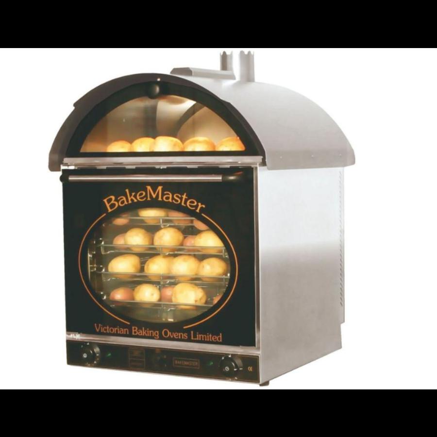 Kartoffelofen 660 x 600 x (h) 880 mm | 60 Warm halten + 60 Backen