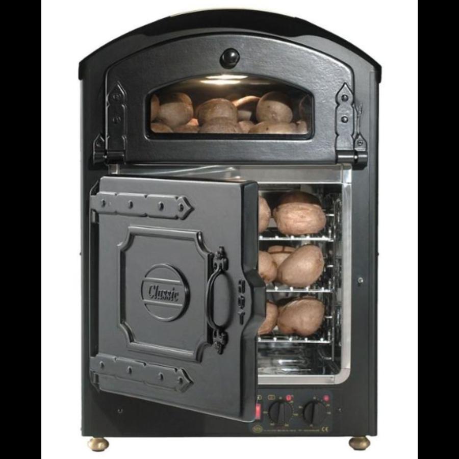 Kartoffelofen 510 x 540 x (h) 750 mm | 50 Behälter + 50 Warm halten