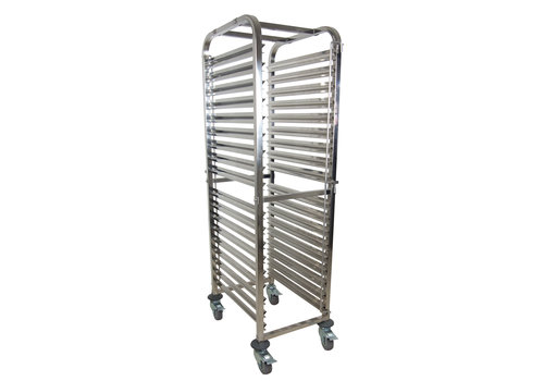 Saro Regaal Wagen   Stainless steel