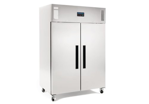 Polar 2 door freezer | Stainless steel 1200ltr | Suitable for GN 2/1