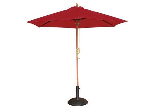 Bolero Parasol Rond Rood 3 (Ø) meter
