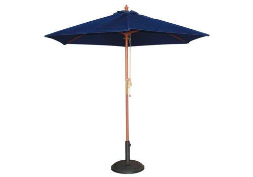 HorecaTraders Sonnenschirm blau | Ø 2.5 Meter