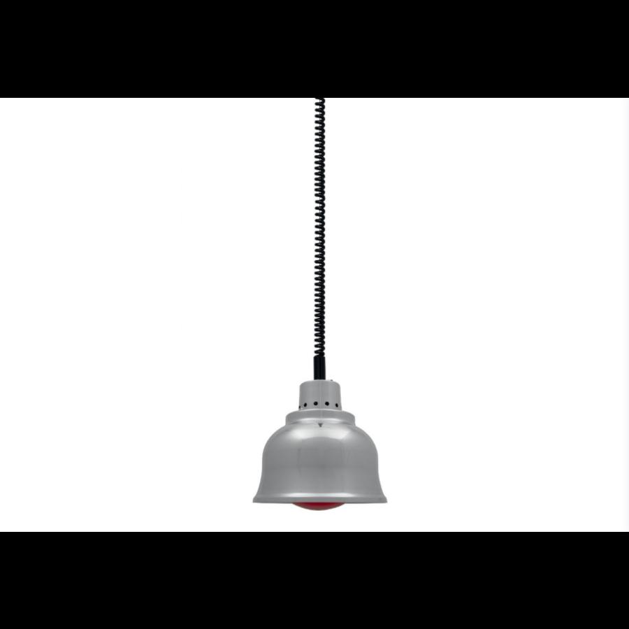 Warmhalten Lampe | Chrome | (Ø 125 mm)