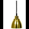 Saro Warmhoudlamp | licht metaal Goud | (Ø 125 mm)