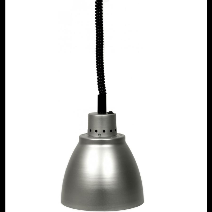 Warmhoudlamp   zilver   (Ø 125 mm)