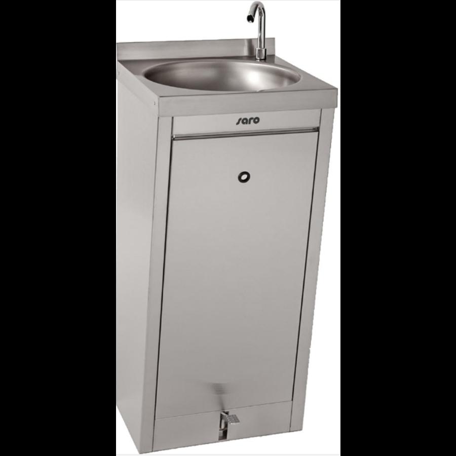 Handwasbak | Voetbediening | 400x400x(H)910mm