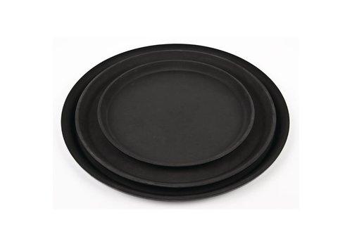 HorecaTraders Antiskid Glass Fiber Black Tray | Choose from 3 sizes