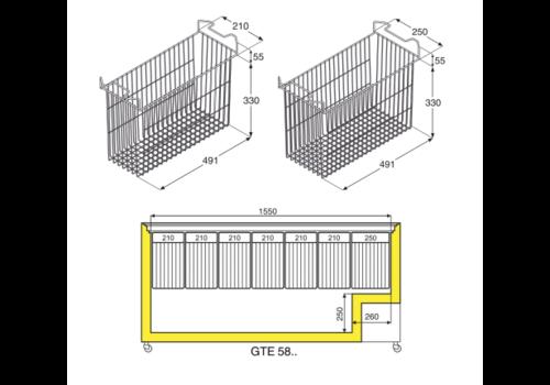 Wire basket 250 MM | 7113399