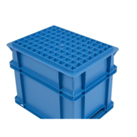 Euronorm-Kisten Kunststoff Stapelbar 30 l | Gerippter Boden