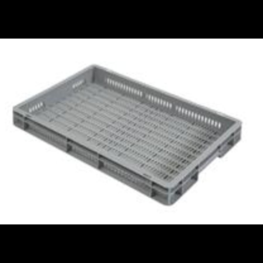 Stoßfeste Lebensmittelboxen | 600x400x70 MM | Perforiert