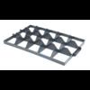 Euronorm-Kiste Separator Kunststoff 15 Fächer An der Spitze
