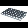 Euronorm-Kiste Separator Kunststoff 40 Fächer An der Spitze