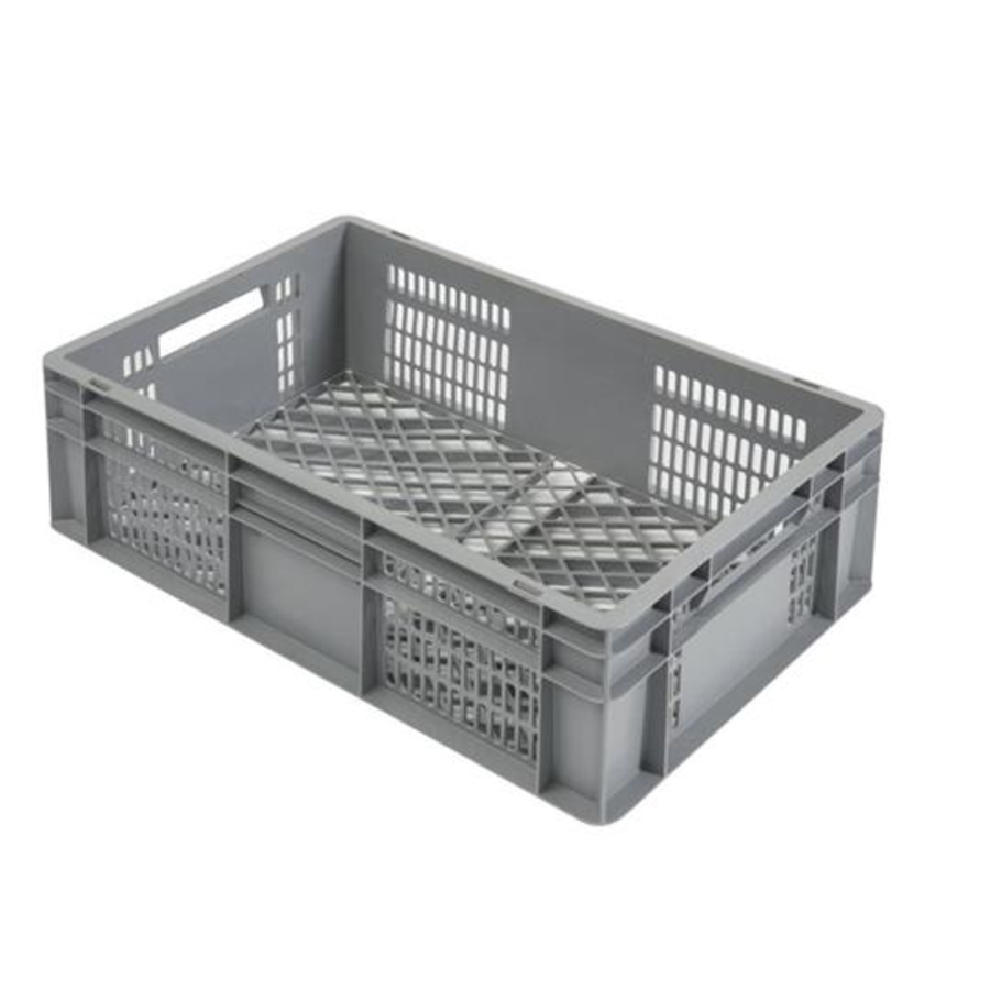 Stoßfeste Transportboxen Perforiert | 600 x 400 x 200 mm