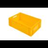 HorecaTraders Euronorm Kratten | Kunststof | Stapelbaar | 42 L  | 600 x 400 x 220  | Met bolle bodem