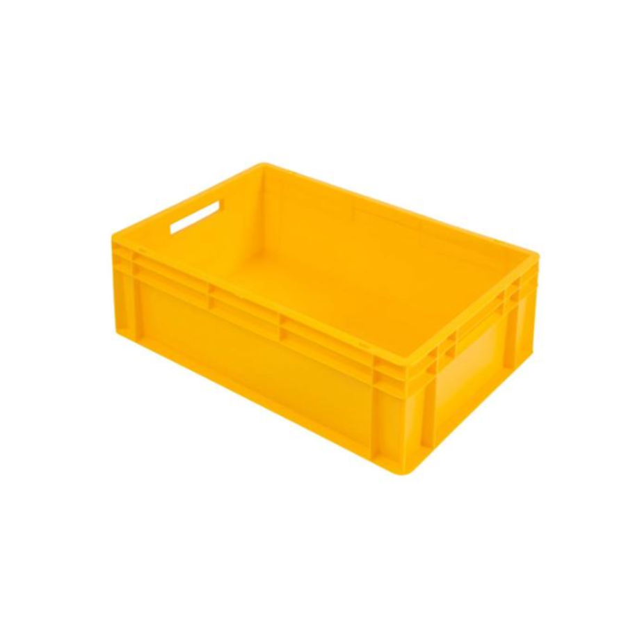 Euronorm-Kisten Kunststoff Stapelbar 42 L | 600 x 400 x 220 | Mit konvexem Boden