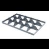 Euronorm-Kiste Separator Kunststoff 15 Fächer Unten