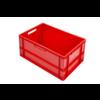 HorecaTraders Euronorm-Kisten Kunststoff Stapelbar 60 l   600 x 400 x 320   Mit konvexem Boden