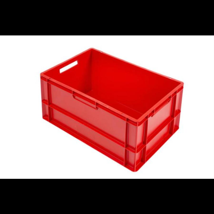 Euronorm-Kisten Kunststoff Stapelbar 60 l   600 x 400 x 320   Mit konvexem Boden