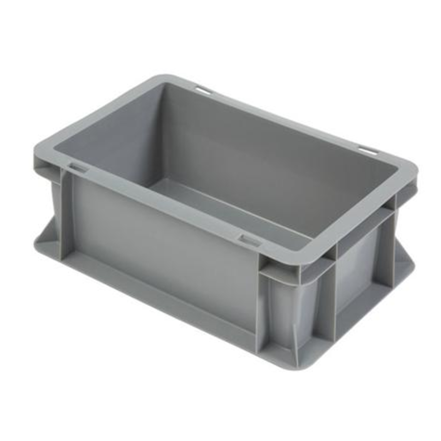 Euronorm-Kisten Kunststoff Stapelbar 5L