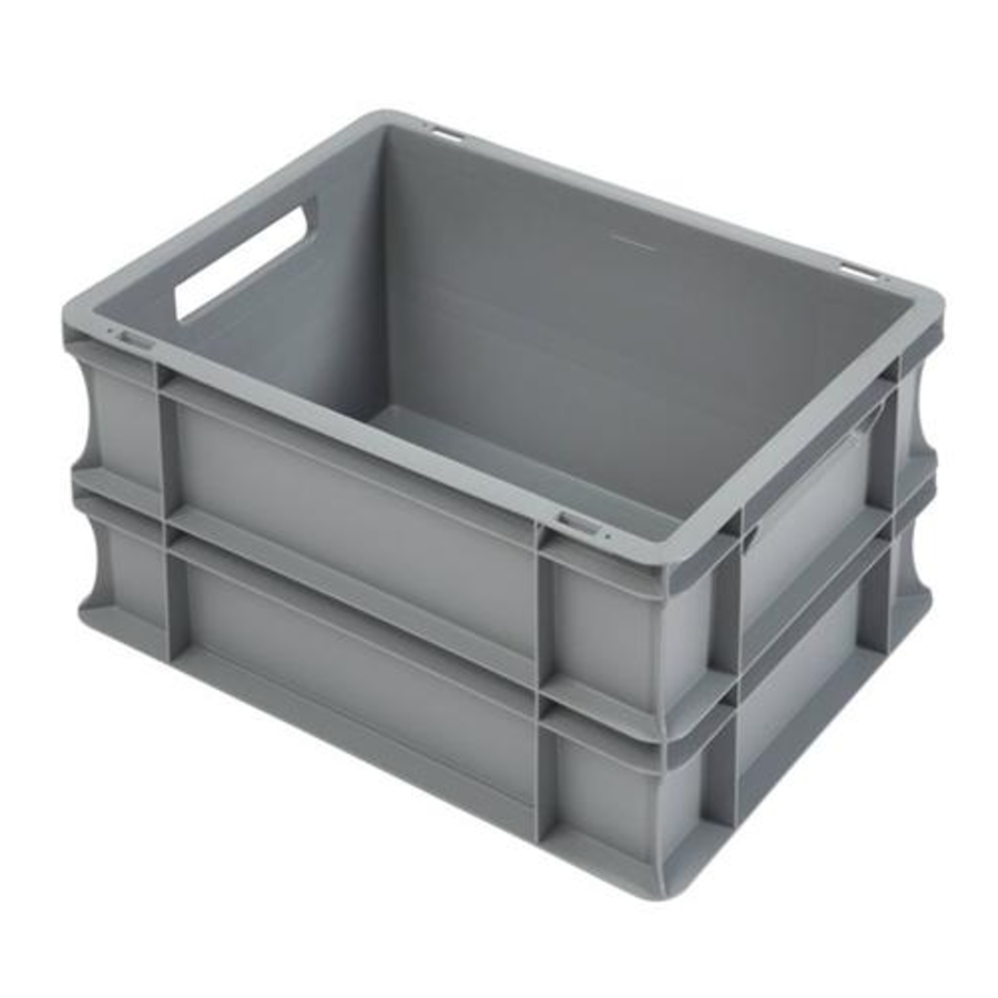 Euronorm Crates Plastic Stackable 22L