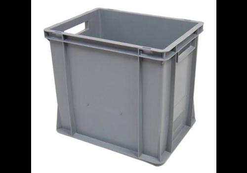 Euronorm Crates Plastic Stackable 35L