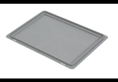 Euronorm crate Lid   Plastic Ascending   400x300 mm