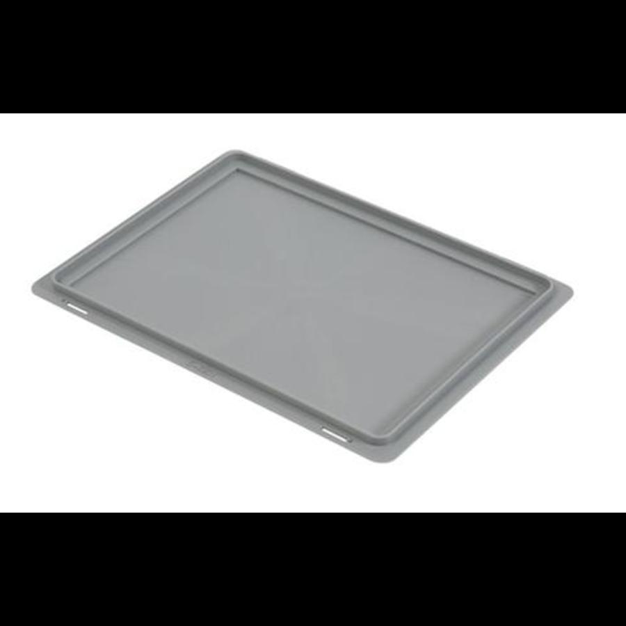 Euronorm Kiste Deckel   Kunststoff Aufsteigend   400 x 300 mm