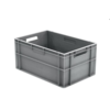 HorecaTraders Euronorm-Kisten Kunststoff Stapelbar 55 l | 600 x 400 x 290