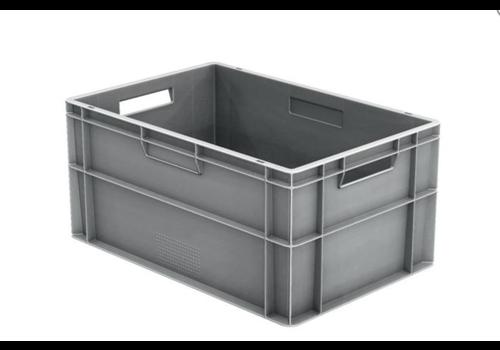 HorecaTraders Euronorm Crates Plastic Stackable 55 L   600 x 400 x 290