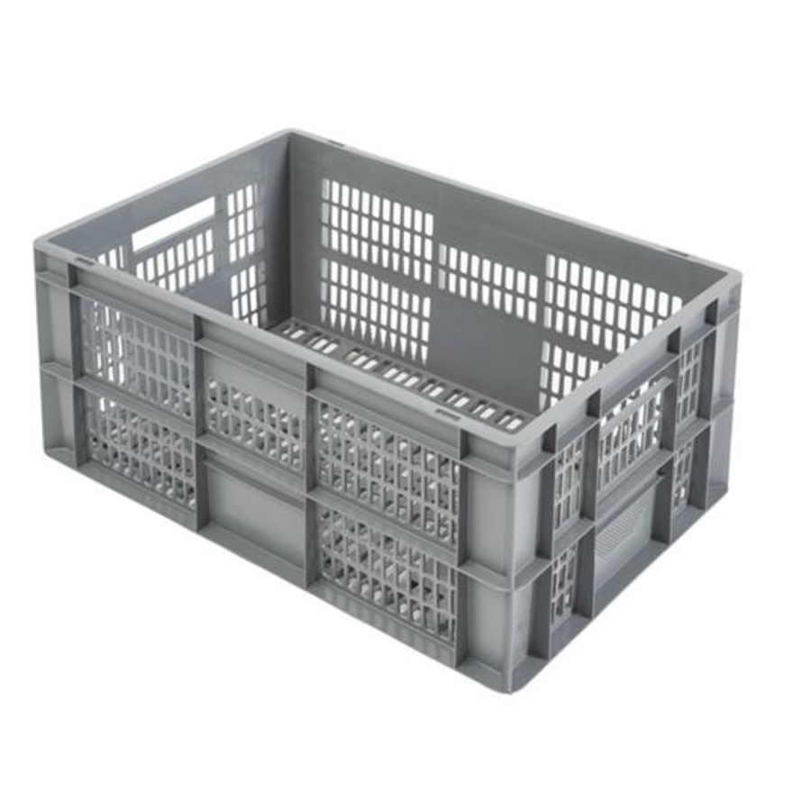 Shockproof Transport Crates 600x400x290MM | Perforated