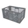 Shockproof Transport Crates 600x400x320 MM | Perforated
