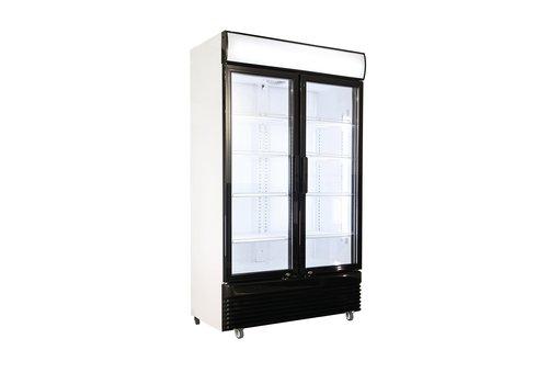 Horeca fridge Glass door