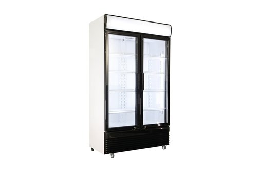 Horeca koelkast Glas deur