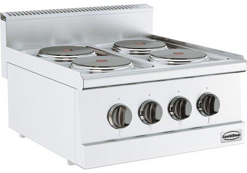 Duurzame 4 pits Kookplaat Elektrisch