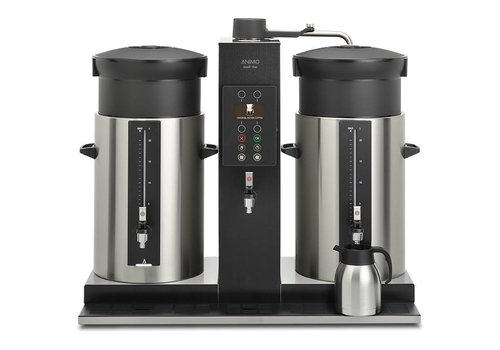 Animo Black coffee maker With Kettle | 2 Containers 3 formats |