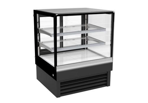 Combisteel Display Koelvitrine | Verlicht |190 Liter|900x680x2300| 4 formaten|