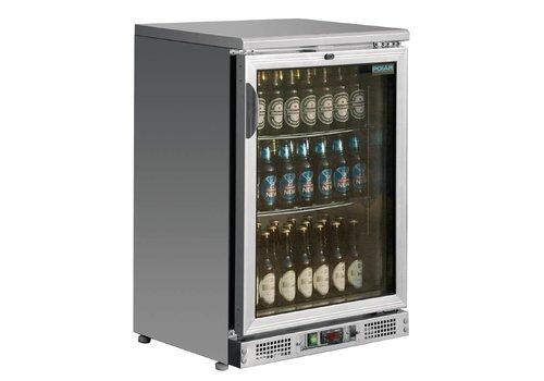 Polar Flaschen Kühlschrank mit Glastür 92,5x60x54 cm