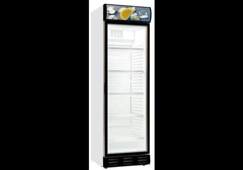 Combisteel Glastür Kühlschrank | 1 Tür | Statisch LED Beleuchtung