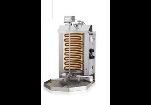 Combisteel Kebab Grill Elektromotor oben | 7,6 kW | 30 kG