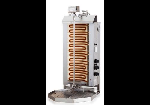 Combisteel Kebab Grill Elektromotor oben | 11,4 kW | 42 kG
