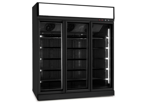 Combisteel Kühlschrank Mit Glastür | 3 Türen | 1530 Liter