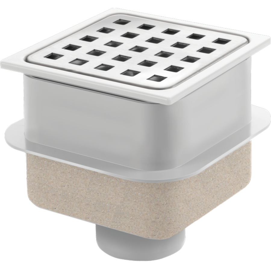 | Drain Put Square Stainless steel | ABS Wellhouse