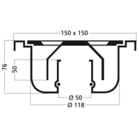 Drain | Stainless steel Hufterproof Schedule